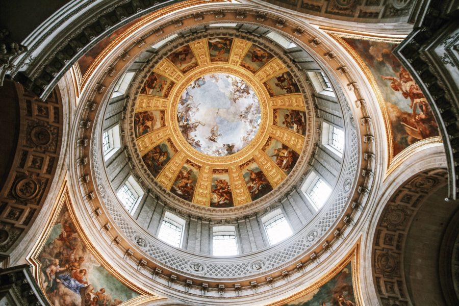 Paris-Tours-Invalides-Kuppel