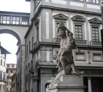 Florence City, Accademia with Michelangelo's David & Uffizi Museum Skip-the-Line Combo Tour – Private Tour in German
